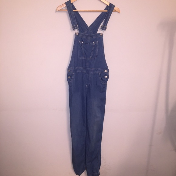Jordache Other - Jordache Vintage Chambray Overalls Women Small